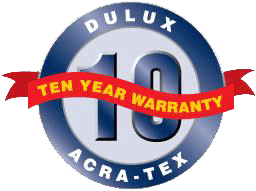 DULUX 10year Warranty
